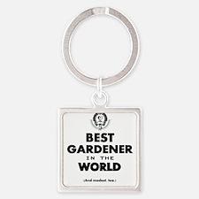 The Best in the World – Gardener Keychains