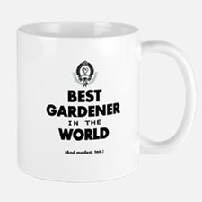 The Best in the World – Gardener Mugs