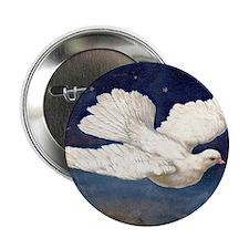 "Dove of Peace 2.25"" Button"
