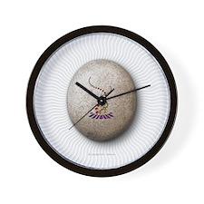 4_25x4_25_tile_gsv_stone Wall Clock