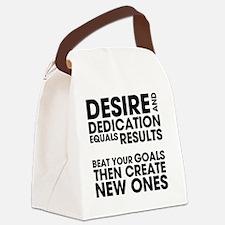 DESIRES-AND-DEDICATION Canvas Lunch Bag
