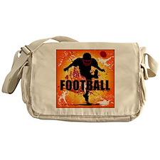 2011 Football 9 Messenger Bag