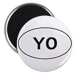 Knitting - YO - Yarn Over Magnet