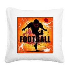2011 Football 9 Square Canvas Pillow