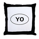 Knitting - YO - Yarn Over Throw Pillow