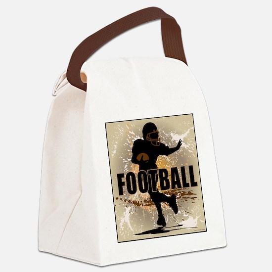 2011 Football 4 Canvas Lunch Bag