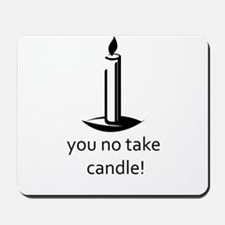 Candle Thief Mousepad