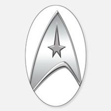 StarTrek Command Silver Signia Ches Decal