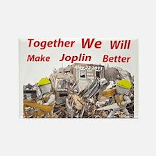 making joplin better2.gif Rectangle Magnet