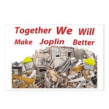 making joplin better2.gif Postcards (Package of 8)