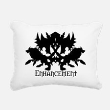 Enhancement Rectangular Canvas Pillow