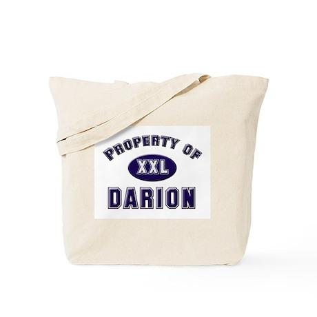 Property of darion Tote Bag
