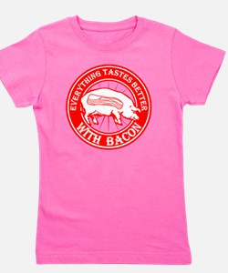 Pig- Red Girl's Tee