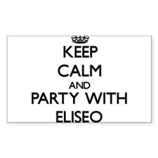 Keep Calm and Party with Eliseo Decal