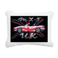 Flag-UK-b-NC Rectangular Canvas Pillow