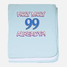 Holy Moly 99 already baby blanket