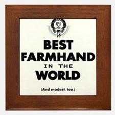 The Best in the World – Farmhand Framed Tile