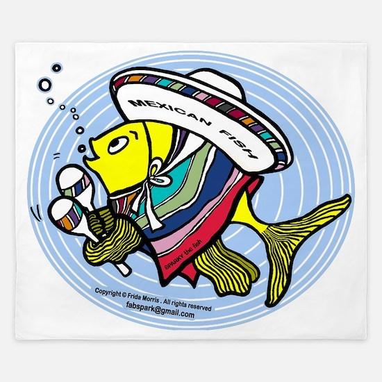Mexican Fish King Duvet