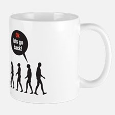 Evolution (ok lets go back) Mug