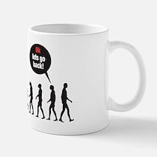 Evolution (ok lets go back) Small Small Mug