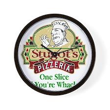 Stugots_Pizzeria Wall Clock