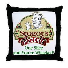 Stugots_Pizzeria Throw Pillow