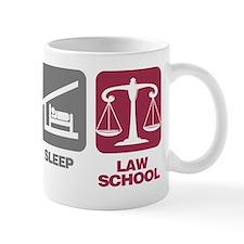 EatSleep_LawSchool Mug