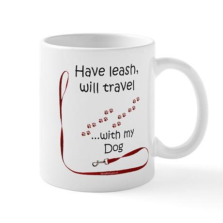 Dog Travel Leash Mug