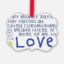 Awareness tee More 2 Love mommy Ornament