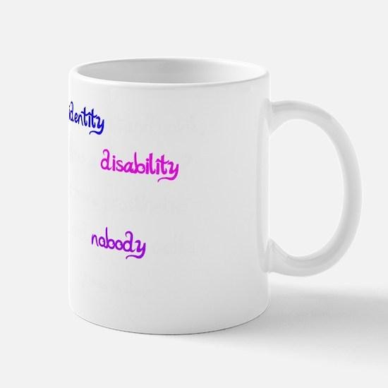 Awareness Tee Interestingly white Mug