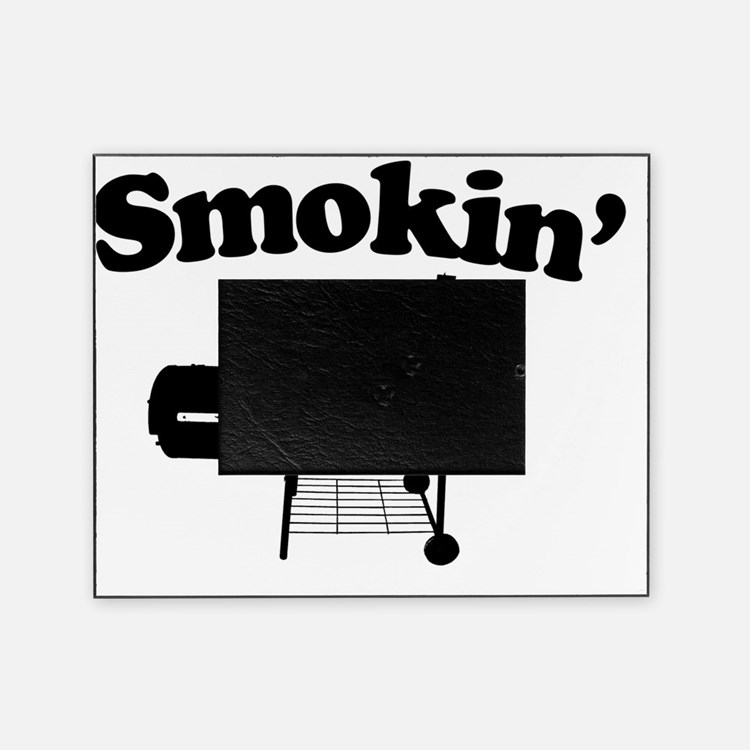 Smokin - SMoker BBQ Picture Frame