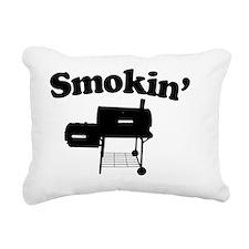 Smokin - SMoker BBQ Rectangular Canvas Pillow