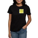 Yellow Owls Design Women's Dark T-Shirt