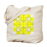 Yellow Owls Design Tote Bag