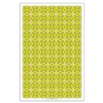 Yellow Owls Design Large Poster