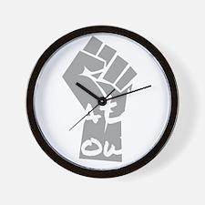 ApathyNow_L Wall Clock
