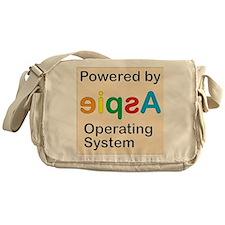 Aspie OS Messenger Bag