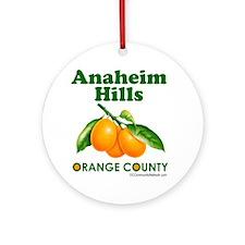 anaheim-hills-design Round Ornament