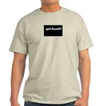 got kundi Ash Grey T-Shirt