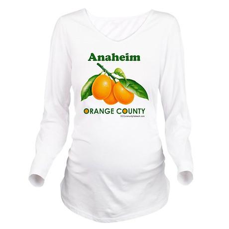 anaheim-design Long Sleeve Maternity T-Shirt