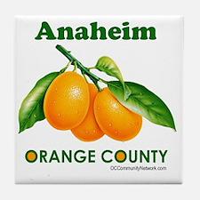 anaheim-design Tile Coaster