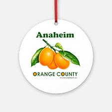 anaheim-design Round Ornament