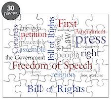 Freedom of Speech: First Amendment Puzzle