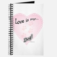 Love is my dog Journal