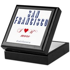 SanFrancisco_10x10_ILoveUMore Keepsake Box
