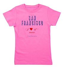 SanFrancisco_10x10_ILoveUMore Girl's Tee