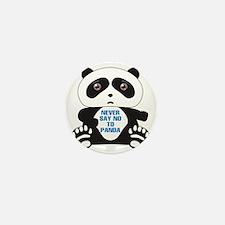 Panda Bear Mini Button