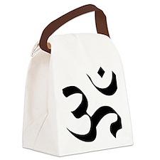 om-symbol-meditation Canvas Lunch Bag