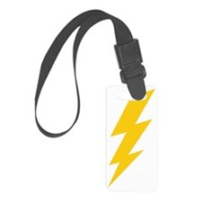 thunder-bolt-plain-hi Luggage Tag