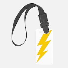 thunder-bolt-plain-hi Luggage Tag